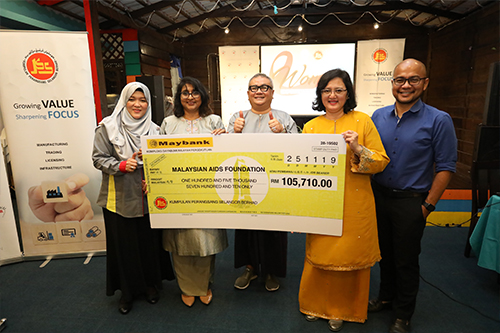 Women Empowerment Programme with Malaysian AIDS Foundation