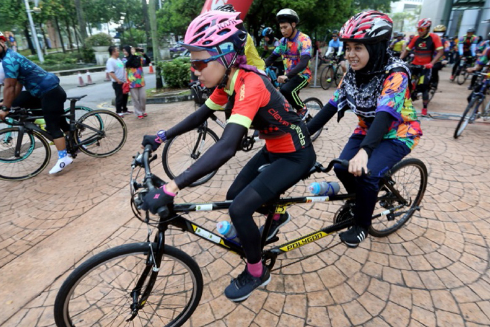 Cycling Programme For Visually Challenged