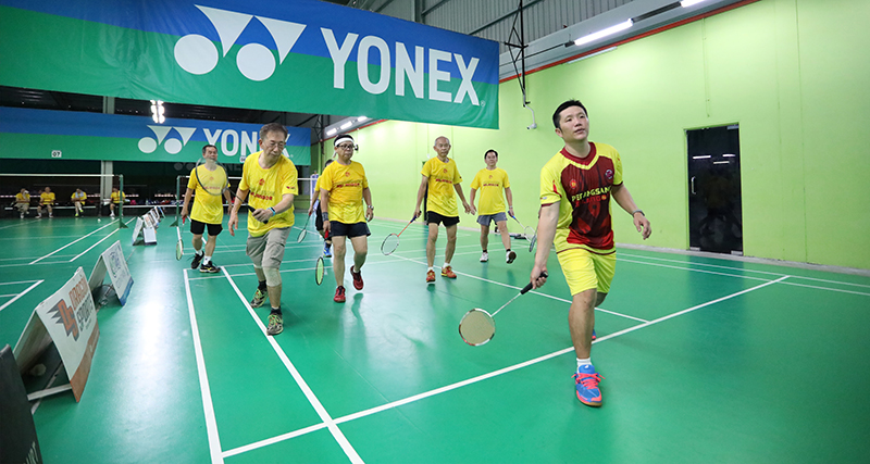 1st Series Of Badminton Clinic For Senior Citizens