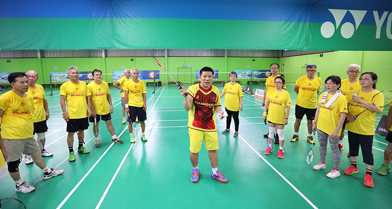 3rd Series Of Badminton Clinic For Senior Citizens